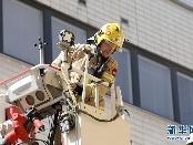 芬兰赫尔辛基消防员救援现场