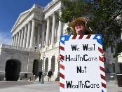 美国会说共和党医改方案会让2200万人失去医保(组图)